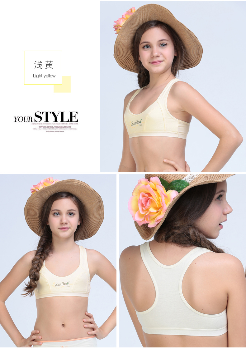 Factory direct sale Summer Style Young Training Bra Girl Underwear ... 291f110a2