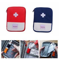 Пустая сумка для первой помощи аварийный Чехол Путешествия медицина контейнер для таблеток сумки открытый несессер для выживания ND998