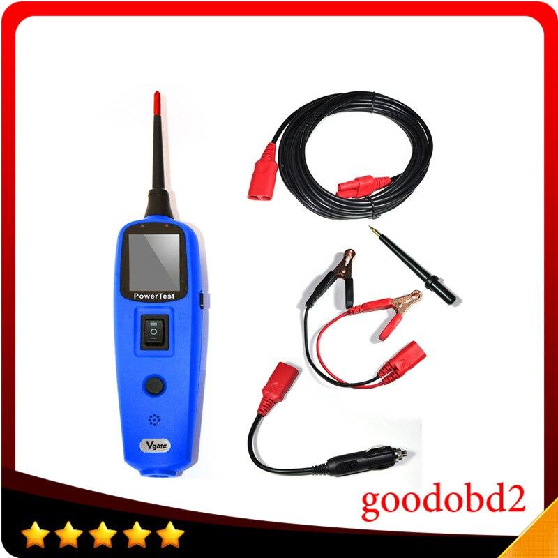 Car 12V 24V PowerScan Circuit Tester Electrical Power Probe AVOmeter Tester Tool