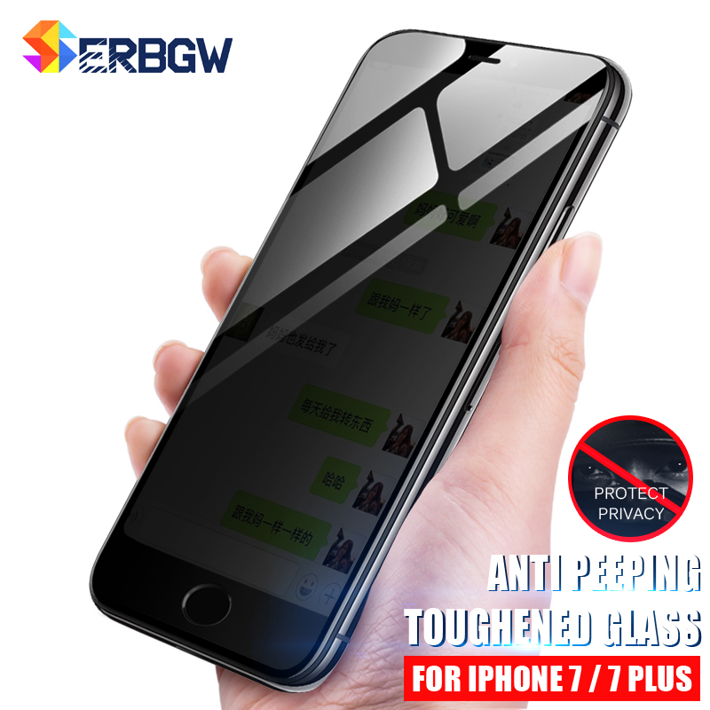 Protective Glass Tempered Max-Film Anti-Spy iPhone Xs 8-Plus for 6 6S The XR 7