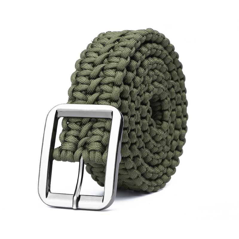 Paracord 550 Survival Belt Rope Hand Made font b Tactical b font Military Bracelet Outdoor Accessories