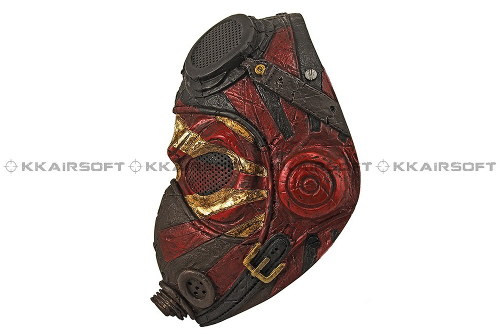 Paintball Party Mask Airsoft Wire Mesh Kamikaze Full Face Mask Bd8867