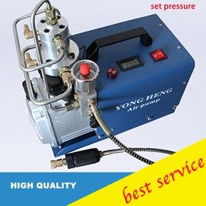 YONGHENG 300BAR 30MPA 4500PSI Воздушный насос высокого давления Электрический воздушный компрессор для пневматического воздушного пистолета подводная...