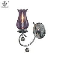 Classical Matt Glass Wall Light LED E14 Bulb Recommend Vintage Wall Lamp 1 Head Home Decor