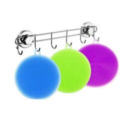 Silikon Dish Waschen Schwamm Wäscher Küche Reinigung antibakterielle Werkzeug Weichen Reinigung Antibakterielle Pinsel Küche Werkzeuge