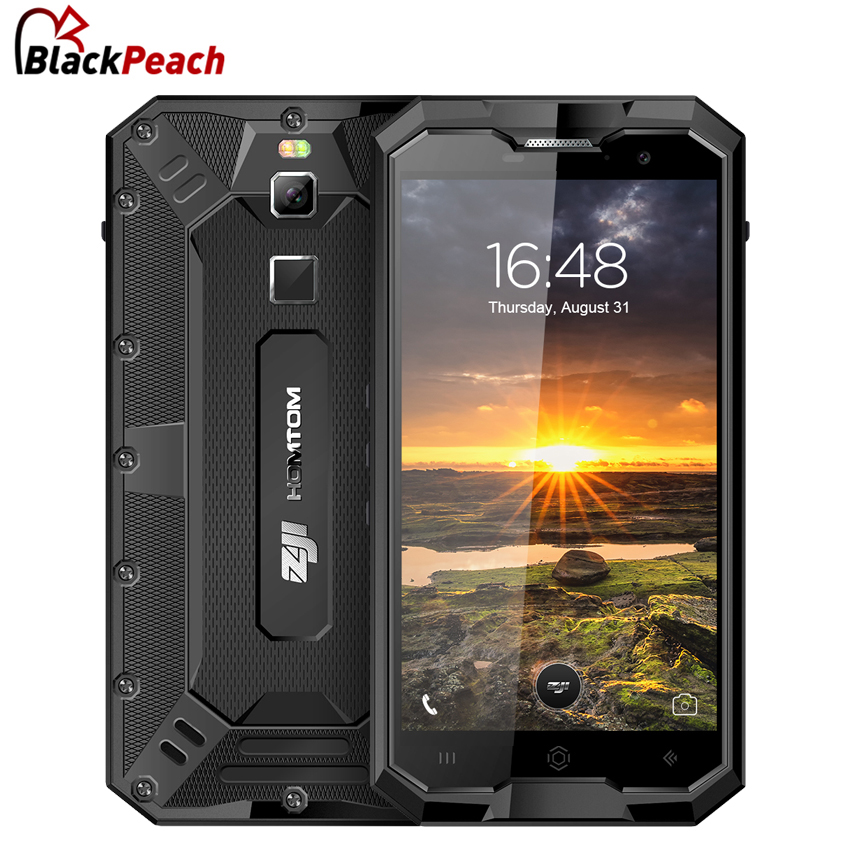 HOMTOM ZOJI Z8 IP68 Waterproof 4G Smartphone 5.0 HD MTK6750 Octa Core Android 7.0 4GB+64GB 4250mAh 16MP Cam OTG Mobile Phone