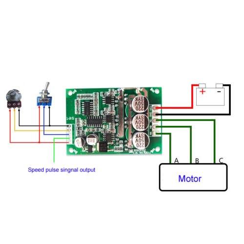 placa de controle acionamento do motor 02