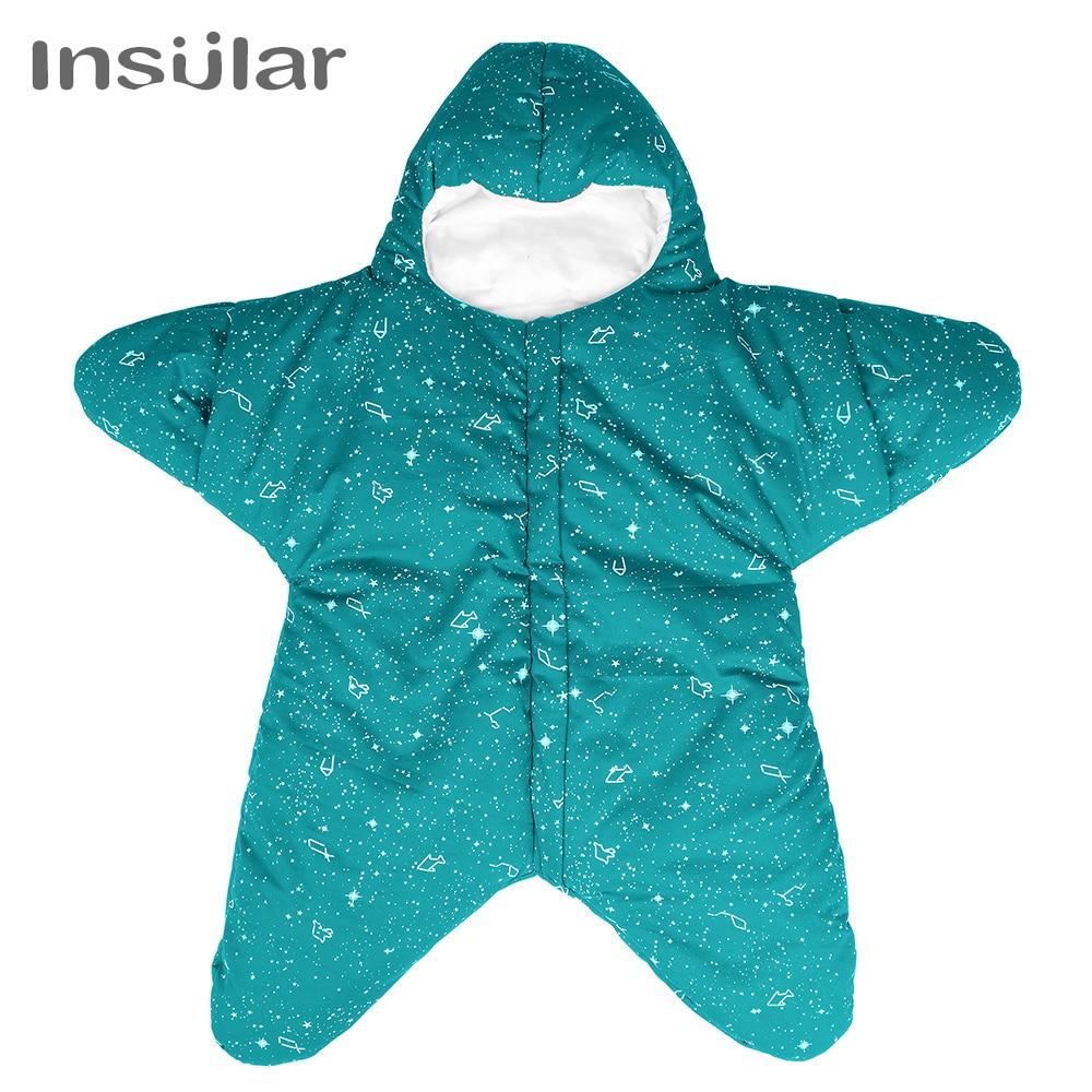 Starfish Baby Sleeping Bag Winter Baby Sleep Sack Warm Baby Blanket Swaddle Sleepsacks starfish
