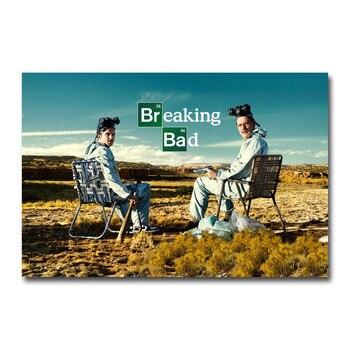 Плакат гобелен Breaking Bad Шелковый плакат Во все тяжкие