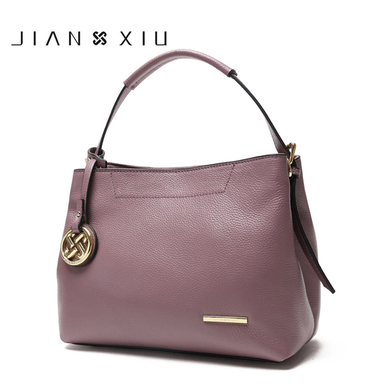 JIANXIU Genuine Leather Bag Luxury Handbags Women Shoulde Bags Designer Handbag Bolsa Bolsos Mujer Sac a Main Bolsas Feminina sac a main women bag leather handbags messenger bags luxury designer fashion handbag bolsa feminina bolsos mujer bolsas metal
