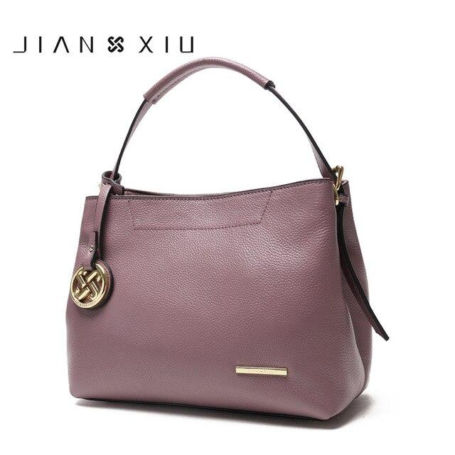 JIANXIU Genuine Leather Bag Luxury Handbags Women Shoulde Bags Designer Handbag Bolsa Bolsos Mujer Sac a Main Bolsas Feminina