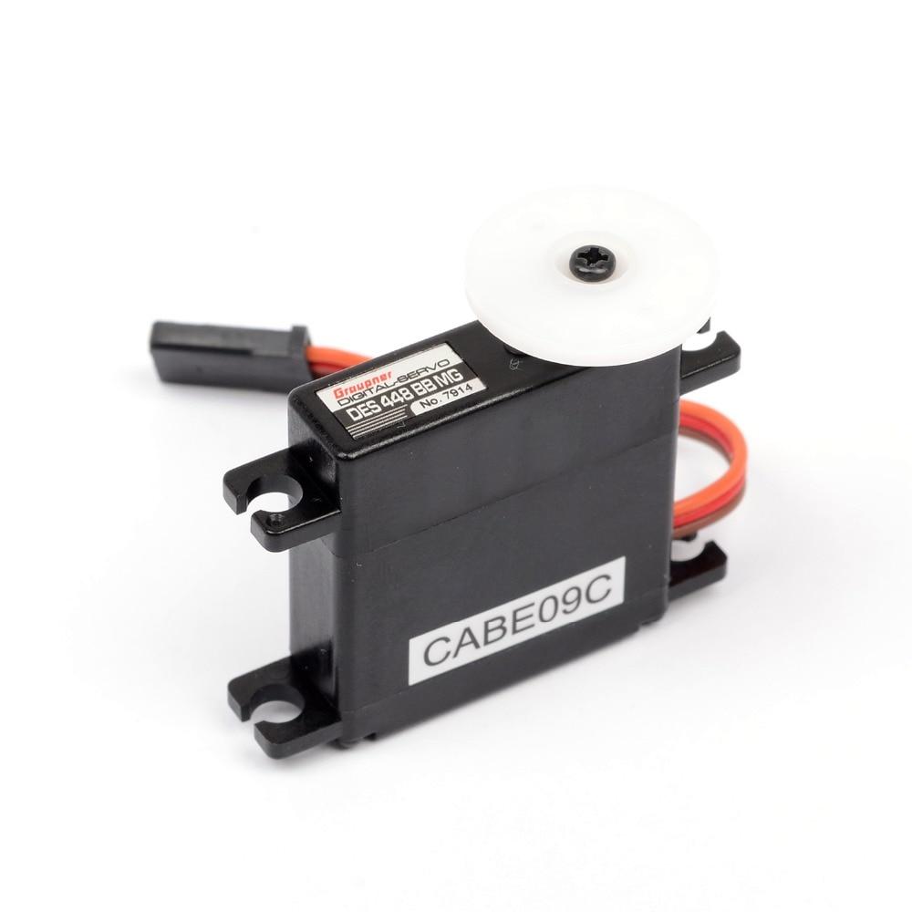 Graupner DES 448 BBMG Torque 9 5mm Digital Servo for RC Motor