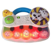 TOT Kids 2019  Lighting Music Animal Piano Education Interactive GOOD QUALITY Early Learning Baby Electronic Organ Toy Gifts