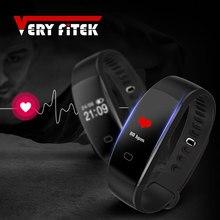 VF08 Умные браслеты Фитнес браслет шагомер SmartBand с сердечного ритма Мониторы Фитнес Браслеты PK ID107 fitbits