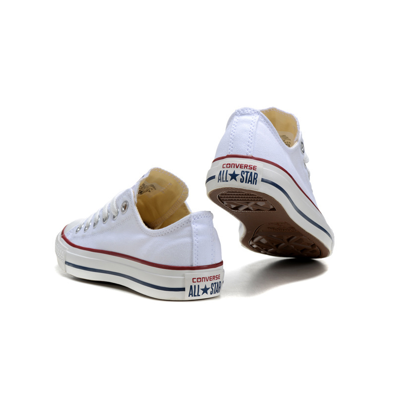 e1ff120058dc09 Converse Classic Canvas Low Top badminton Shoes Unisex White Anti Slippery  Sneakser 35 44-in Badminton Shoes from Sports   Entertainment on  Aliexpress.com ...