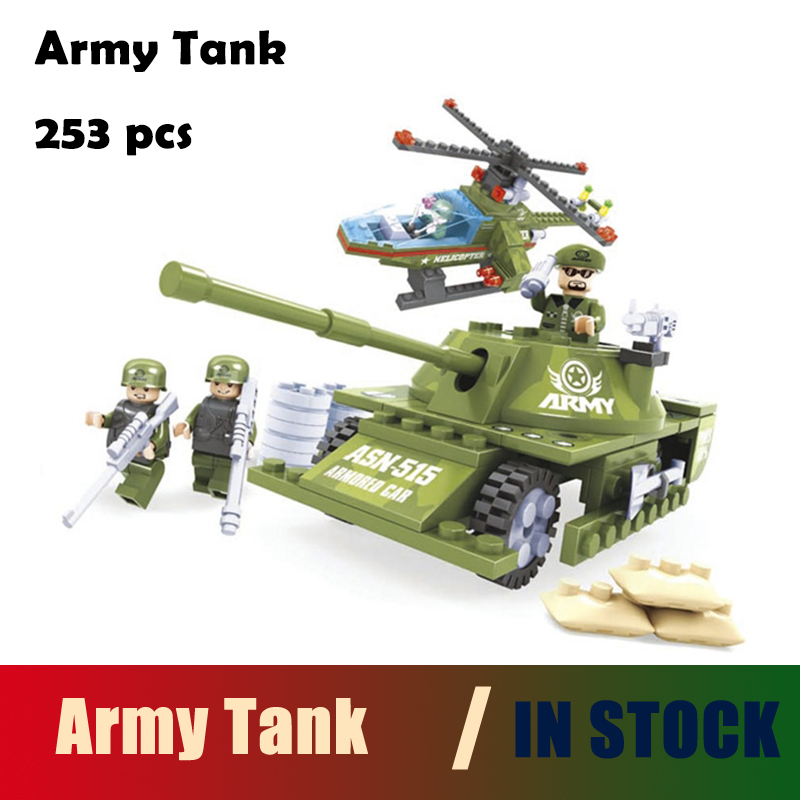 Compatible with lego city Ausini model building kits tank 891 3D blocks Educational mode ...