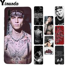 Yinuoda Mgk Machine Gun Kelly Painted Design Phone Case for Huawei P9 P10 Plus Mate9 10 Mate10 Lite P20 Pro Honor10 View10(China)
