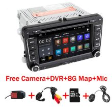 "7 ""IPS Touch Screen Android 9.0 jogador Do Carro dvd para Volkswagen Passat Golf MK5 B5 B6 B7 Tiguan Wifi 3G GPS Do Bluetooth Rádio(China)"