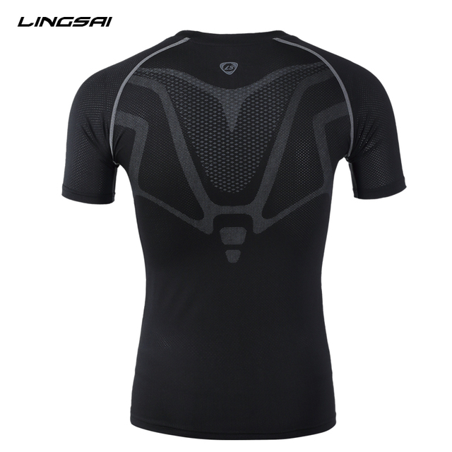 Compression Tights Soccer Jerseys Short Sleeve T-shirt For Men