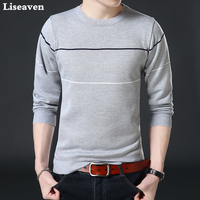 Liseaven Men Thick Sweater Male Sweaters Pullover Men 2017 Male Brand Casual Pullovers Mens Clothing