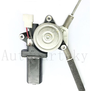 Image 2 - MR135165 For Mitsubishi Montero Pajero V46W V45W V44W V43W V36W mando elevalunas Front Left Door Power Window Regulator Motor