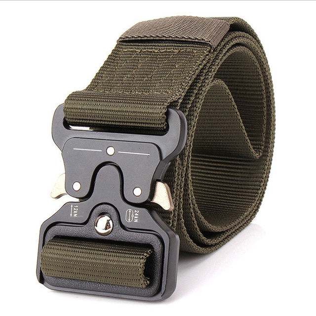 SWAT Military Equipment Knock Off Army Belt Men's Heavy Duty US Army Soldier Carry Waist Belt Tactical Belts Nylon Waistband