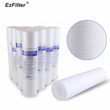15Pcs 1&5 Micron PP Spun Polypropylene Sediment Water Filter Replacement Cartridge Reverse Osmosis 10 Inch PP Cotton Filter 100g цены