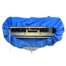 Bolsa de limpieza de aire acondicionado montada en la pared de habitación, cubierta de lavado de aire acondicionado dividido para 1p/1,5 p/2p/3p, aire acondicionado AC026
