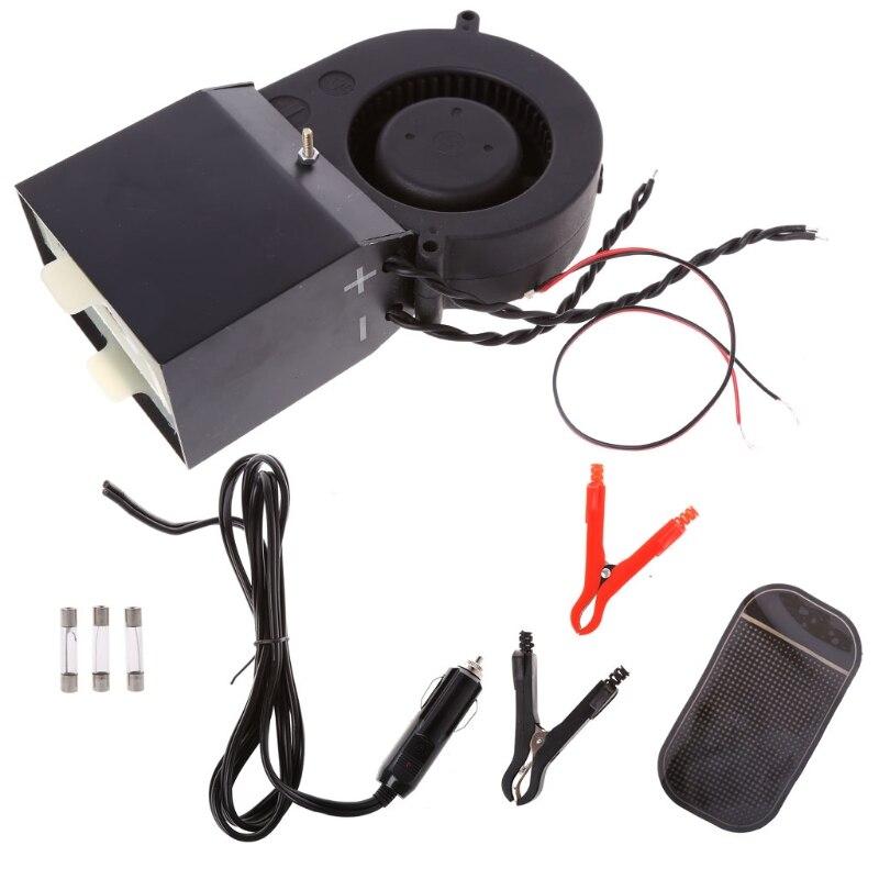 Adjustable PTC Ceramic Car Heating Heater Hot Fan Defroster Demister DC 12V