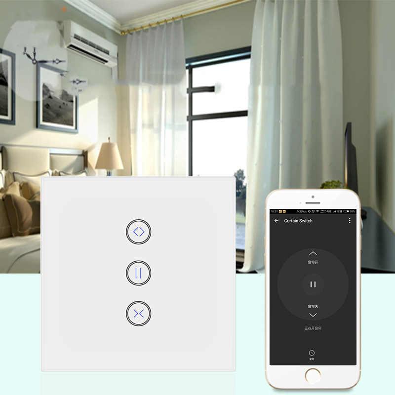 TUya smart życie przełącznik WIFI elektryczne zasłony, rolety żaluzje, Google domu, amazon Alexa sterowanie głosem inteligentny dom