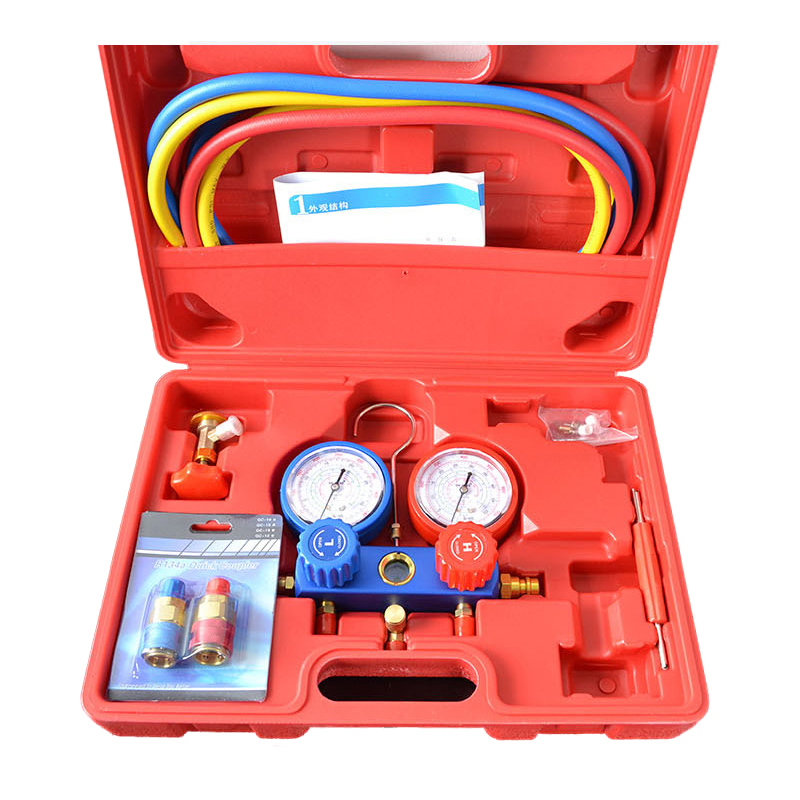 A/C Manifold Gauge Set For R134A Refrigerant A/C System
