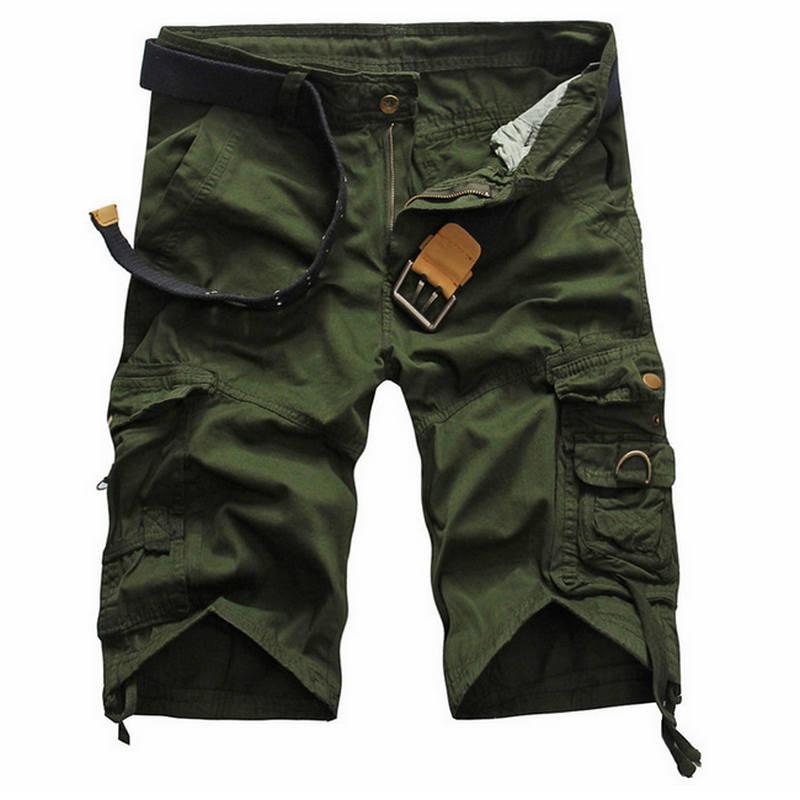 2018 Shorts Man Summer Brand Fashion Men's Casual Bermuda Camouflage Short Pants Men Homme Printing Loose Cargo Shorts