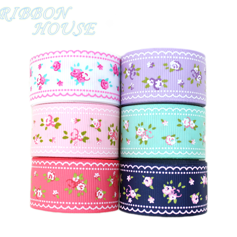 (6 colors mix) grosgrain ribbon...