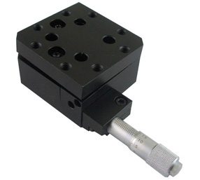 PT-QX03 One-Axis High Load Tilt Platform, Precise Manual Tilt Stage, Tilt Range: +/- 4 degree pq250 4l two axis tilt platform precise manual tilt stage with two fine adjusting screws pitching 4 yawing 2