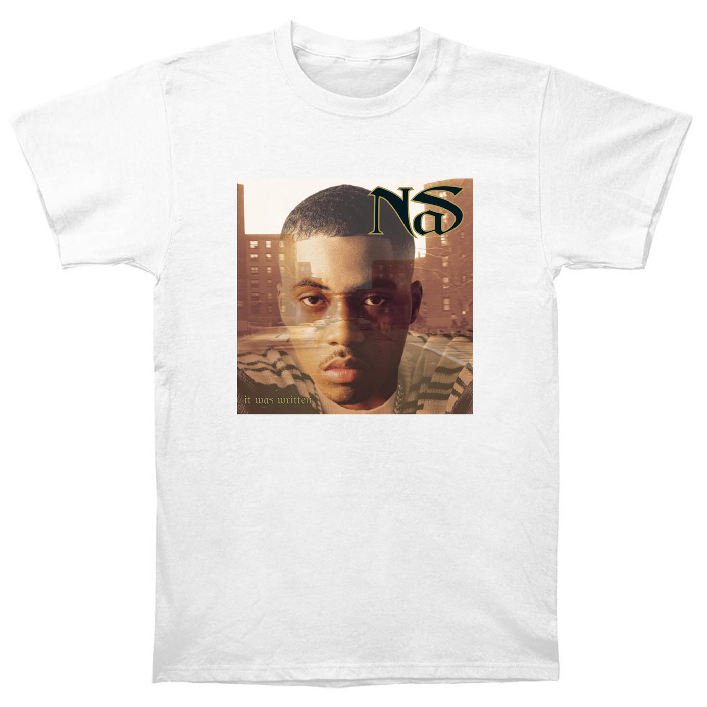 Nas Illmatic It Was Written I Am Stillmatic Rap Hip Hop ill Ether T Shirt NS3