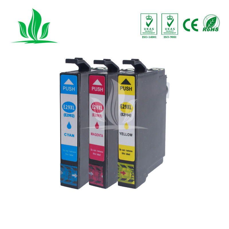 3 X T2991 T2992 T2993 T2994 29XL ink cartridge compatible for Epson XP-332 XP-235 XP-335 XP-432 XP-435 Printer 33 X T2991 T2992 T2993 T2994 29XL ink cartridge compatible for Epson XP-332 XP-235 XP-335 XP-432 XP-435 Printer 3