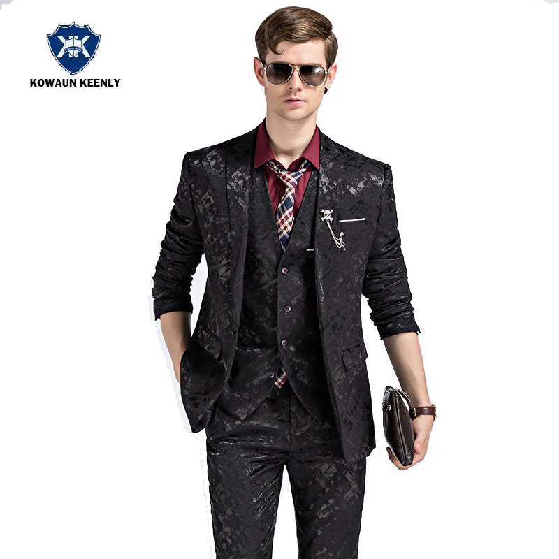 Aliexpress.com : Buy 2017 Casual Wedding Suits Men Stage Suit ...