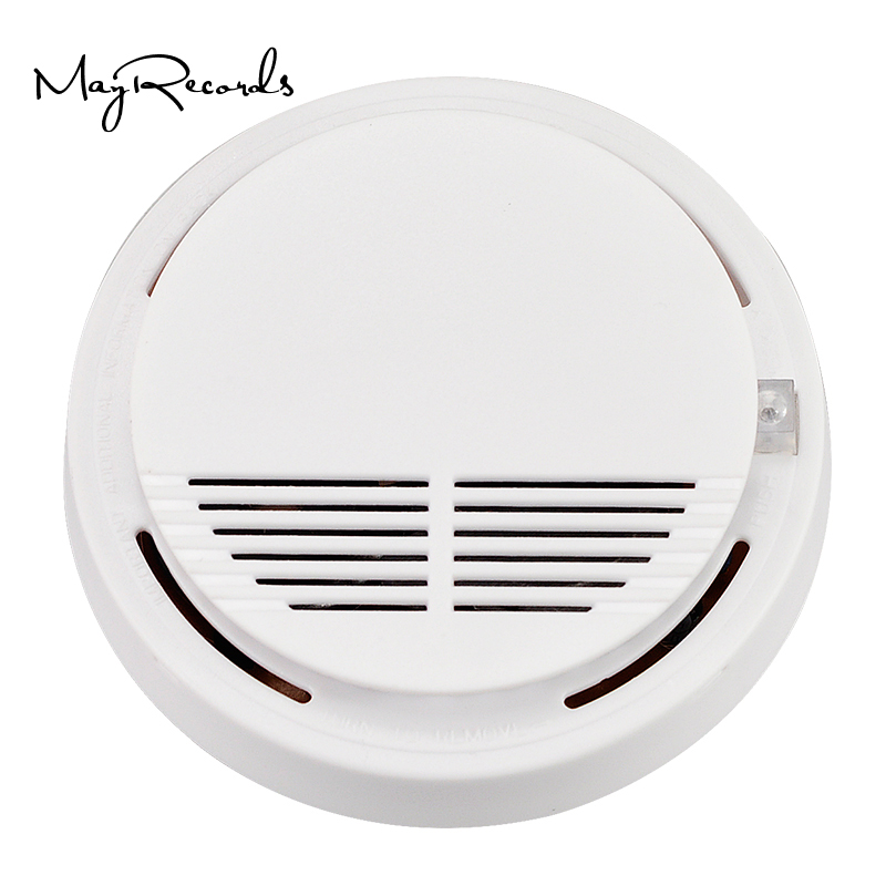 High Sensitive Photoelectric Home Security System Cordless Wireless Smoke Detector Fire Alarm Equipment wireless cordless wireless dental equipment endo motor 16 1 contra angle