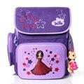 Красивые дети Супер свет бренд Delune мешок школы бесплатно кукла ребенка студентов рюкзак девушка большой емкости путешествия мультфильм мешок