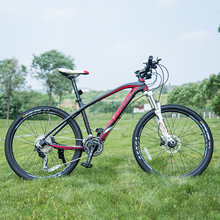 High Quality 26 inches bicycles Steel 30 speed  Aluminium frame mountain bike skid Pedal Hydraulic disc brakes bicycle TROPIX