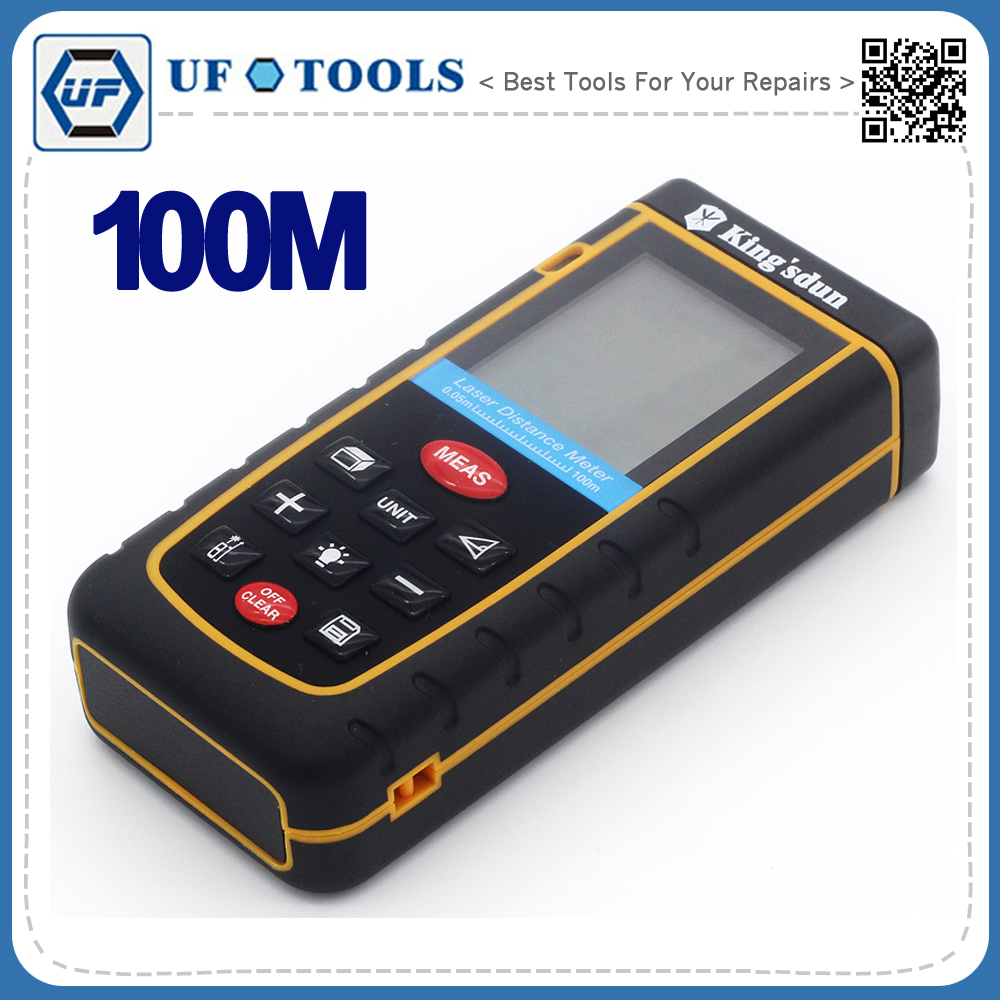 ФОТО Precision Safety Durable Digital Laser Distance Meter Rangefinder 100m  Delivery from US
