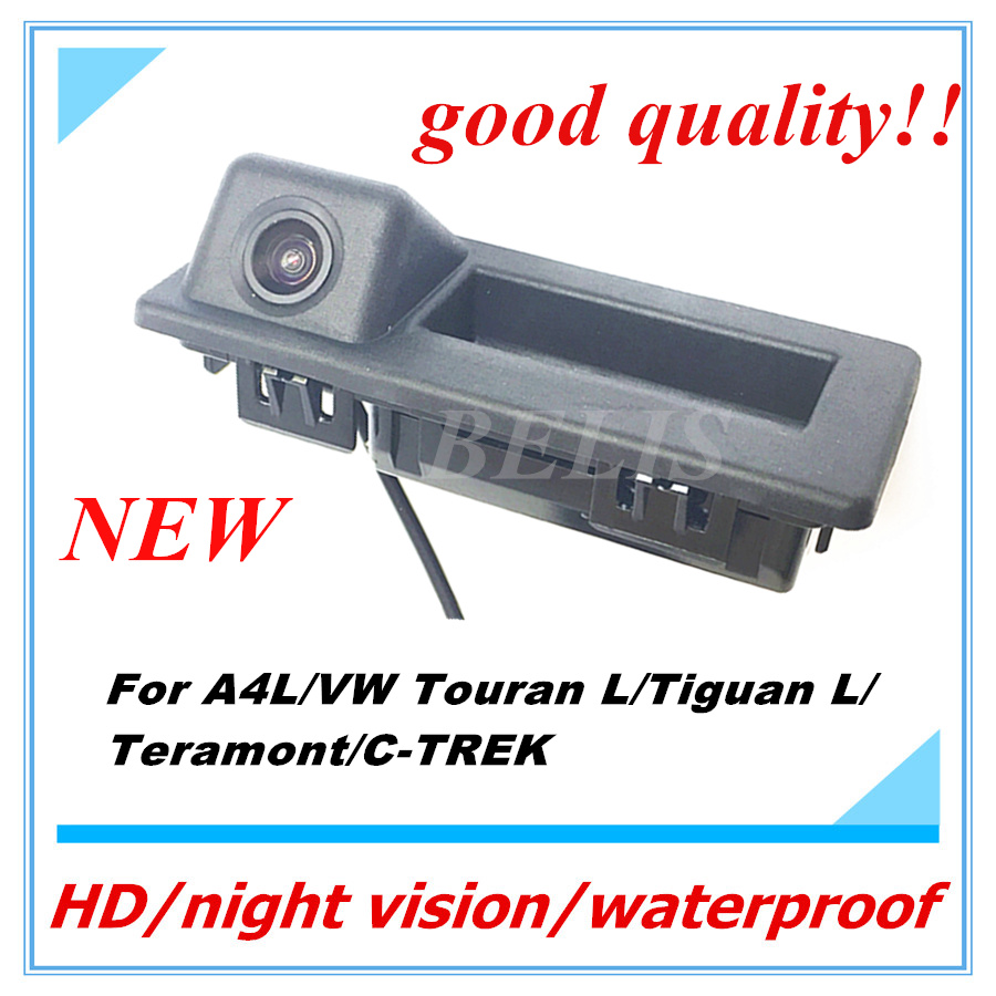 Free shipping auto Back up Reverse Camera handle switch camera for 2017 Audi A4L/2016/2017 VW Touran L/Tiguan L/Teramont/C TREK