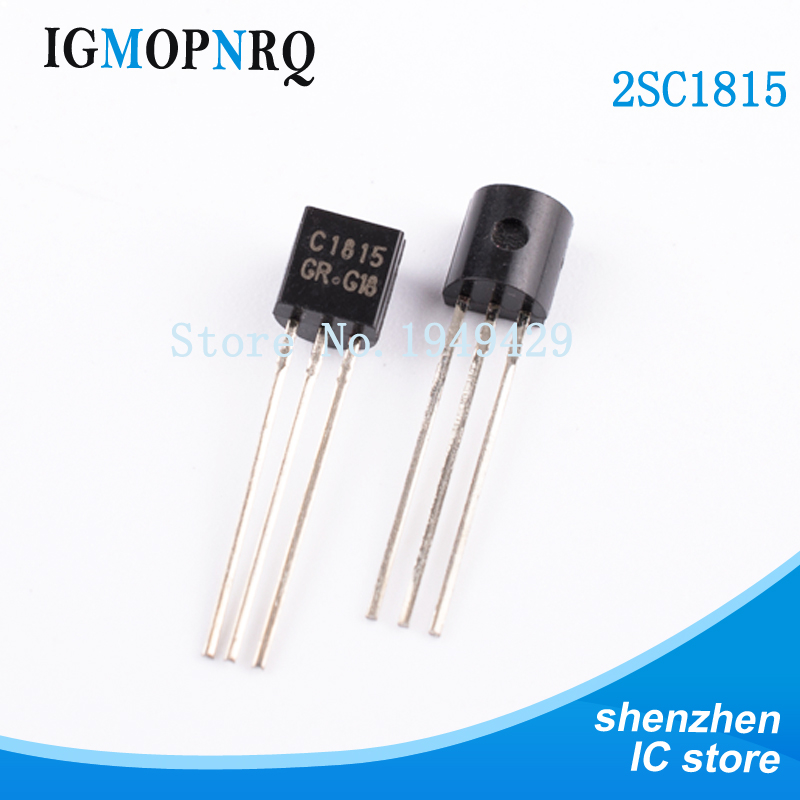 100PCS/Lot New C1815 2SC1815 C1815 2sc1815 Triode Transistor TO-92 NPN  Wholesale Electronic
