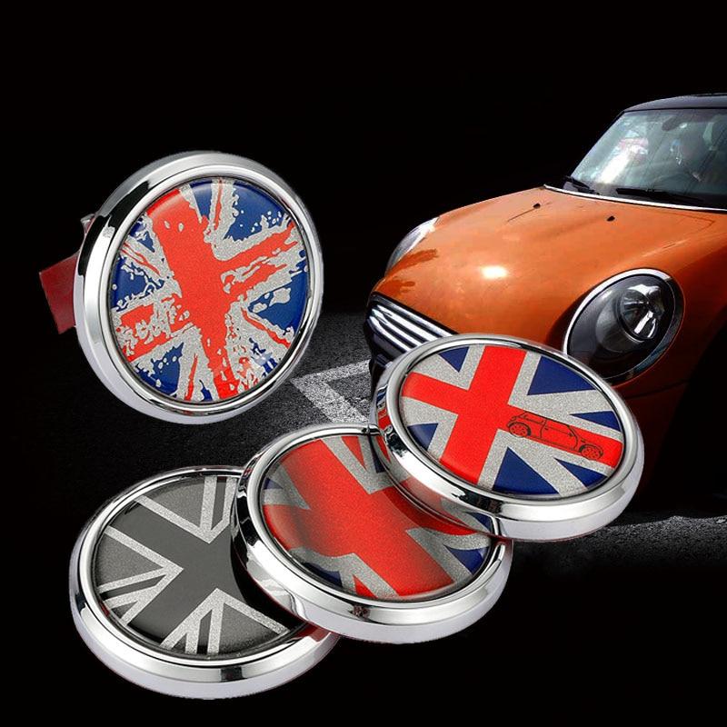 Union Jack drapeau britannique emblème en métal Badge Logo autocollant autocollant pare-chocs avant gril pour tous les MINI Cooper R50 R55 R56 R60 R61 style de voiture