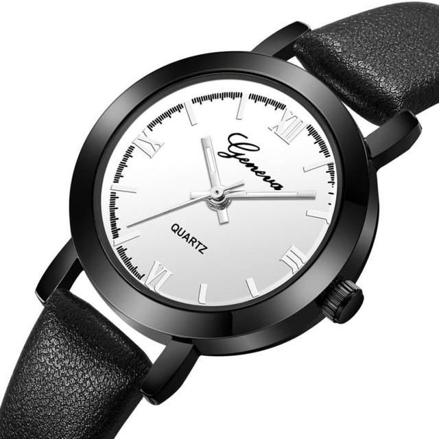 Geneva Top Brand Luxury Watch Woman Bracelet Watches Female Business Dress Watch