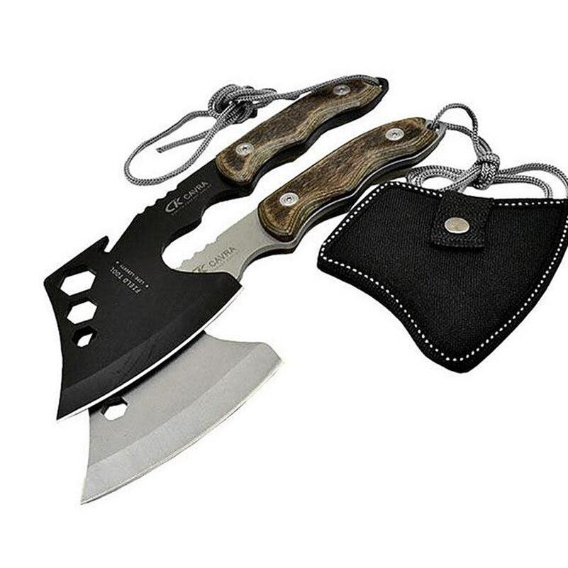 360g Ultraleicht Hatchet Volle 26 Cm Edelstahl Klinge Holz Griff Camping Jagd Überleben Tomahawk Hand Werkzeuge Eis Axt Um Jeden Preis