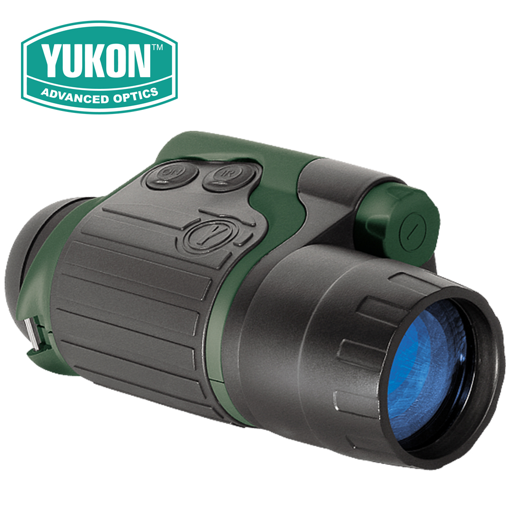 Yukon NVMT Spartan Series 3x42 Night Vision Multi-Tas Compact Monoculars Hunting Scope Built-in IR illuminator Generation 1 цена