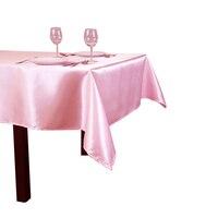 10 шт./упак. 90 х 132 дюйма прямоугольная 228 см x 335 см Атлас скатерти покрытие стола для Свадебная вечеринка ресторан, банкетный украшения