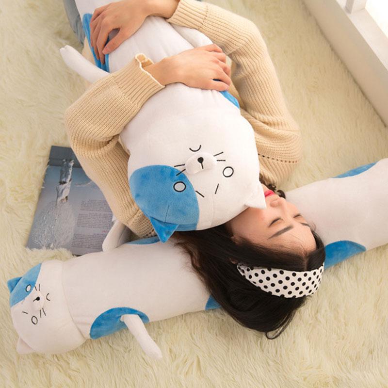 Coshome Himouto Umaru Chan Bigcat Pillow Plush Toy Umaru Doma Cosplay Props Cushions Anime Accessories Children Christmas Gift (6)
