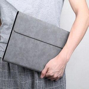 Image 5 - 2019 nova moda unisex tablet manga flip suporte capa para microsoft surface pro 3 4 5 6 12 12.3 polegada caso das mulheres dos homens manga saco